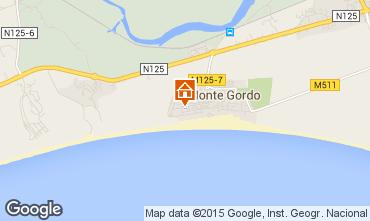 Mapa Monte Gordo Apartamento 80882