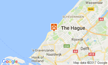 Mapa La Haya Casa rural 68087