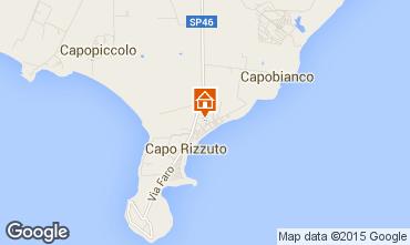 Mapa Isola di Capo Rizzuto Apartamento 68139