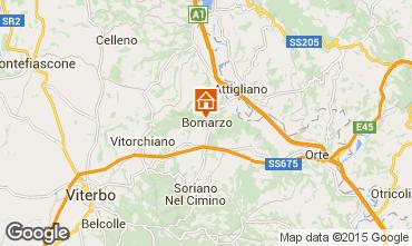 Mapa Viterbo Villa 82597