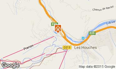 Mapa Les Houches Apartamento 1408