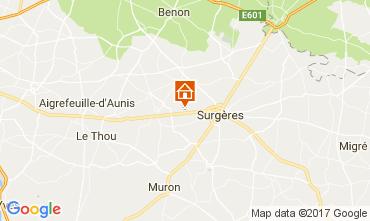 Mapa La Rochelle Casa rural 108201