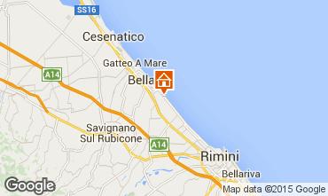Mapa Bellaria Igea Marina Apartamento 80890