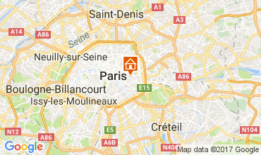 Mapa PARÍS Apartamento 107749