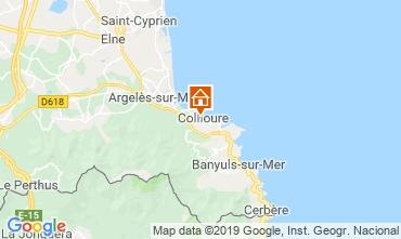 Mapa Collioure Apartamento 118443