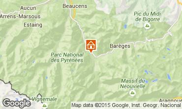 Mapa Luz Saint Sauveur Casa rural 58906