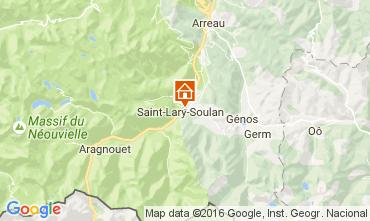 Mapa Saint Lary Soulan Chalet 107164