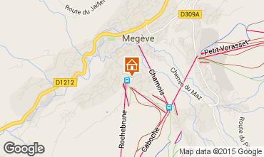 Mapa Megève Apartamento 44218