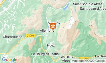 Mapa Alpe d'Huez Chalet 100938