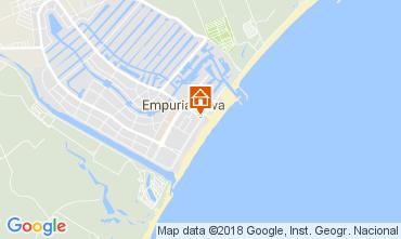 Mapa Ampuriabrava Apartamento 112753
