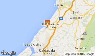 Mapa São Martinho do Porto Apartamento 74983