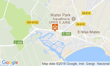 Mapa Rosas Apartamento 115461