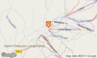 Mapa Saint François Longchamp Apartamento 2518