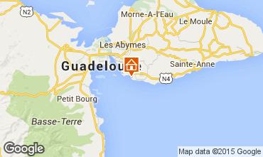 Mapa Gosier (Guadalupe) Apartamento 86727