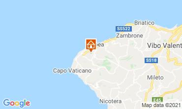 Mapa Tropea Villa 57487
