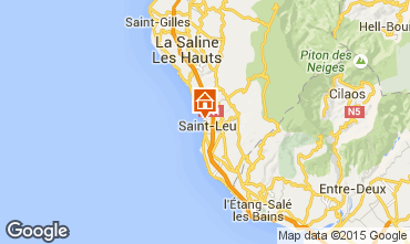 Mapa Saint Leu Apartamento 85760
