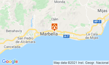 Mapa Marbella Apartamento 105045
