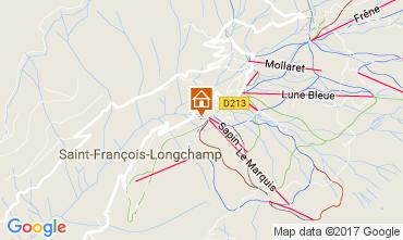 Mapa Saint François Longchamp Chalet 107261