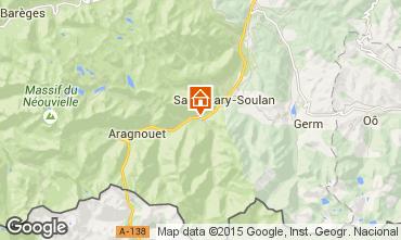 Mapa Saint Lary Soulan Casa 4447