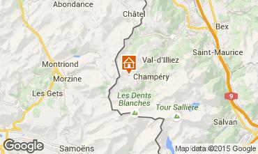 Mapa Les Crosets Apartamento 4697