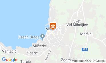 Mapa Malinska Apartamento 44987