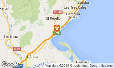 Mapa La Ampolla Villa 94750
