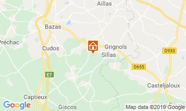 Mapa Burdeos Casa rural 119225