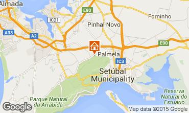 Mapa Palmela Casa rural 61769