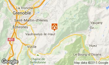 Mapa Chamrousse Apartamento 66338