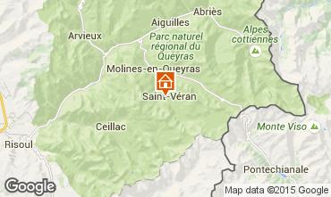 Mapa Molines Saint-Véran Chalet 1575