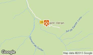 Mapa Molines Saint-V�ran Chalet 1575