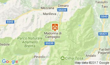 Mapa Madonna di Campiglio Apartamento 28711