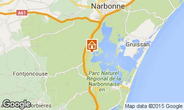 Mapa Narbonne Apartamento 78748