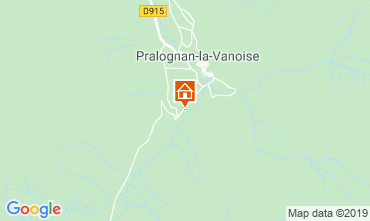 Mapa Pralognan la Vanoise Chalet 2283