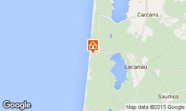Mapa Lacanau Casa 76733