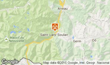 Mapa Saint Lary Soulan Apartamento 87371
