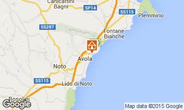 Mapa Avola Villa 69066
