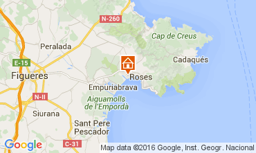 Mapa Rosas Apartamento 104244