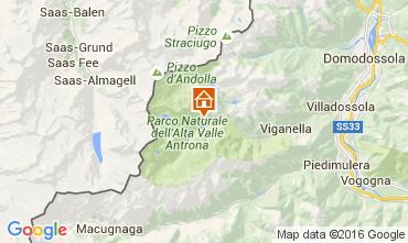 Mapa Verbania Chalet 77037