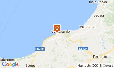 Mapa Castelsardo Apartamento 83489