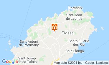 Mapa Ibiza Casa rural 64142