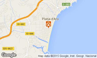 Mapa Playa d'Aro Apartamento 98466