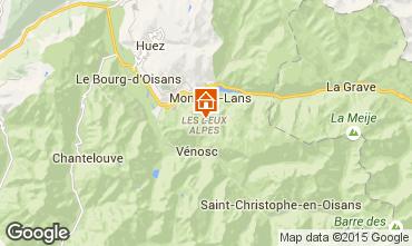 Mapa Les 2 Alpes Apartamento 40123