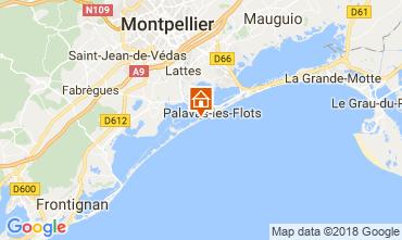 Mapa Palavas-les-Flots Estudio 6111