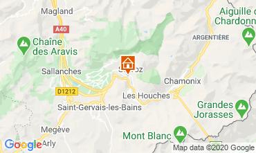 Mapa Chamonix Mont-Blanc Estudio 90652