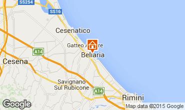Mapa Bellaria Igea Marina Apartamento 69763