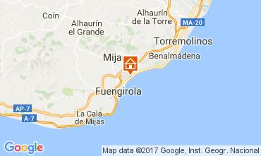 Mapa Fuengirola Apartamento 111259