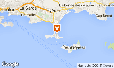 Mapa Hyères Apartamento 69390
