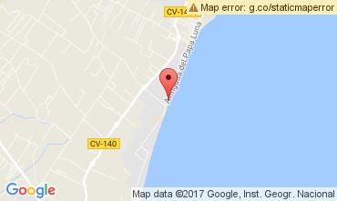 Mapa Peñíscola Apartamento 112273