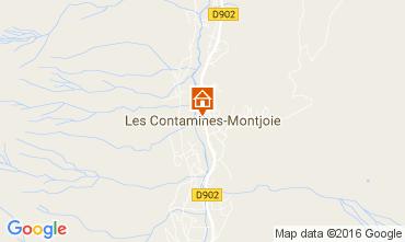 Mapa Les Contamines Montjoie Apartamento 101958